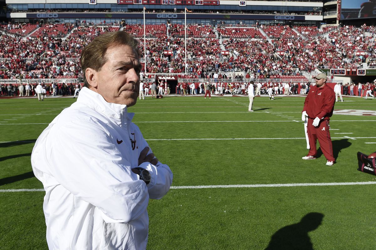 Nick Saban and his Alabama Crimson Tide will be heavily challenged this weekend.