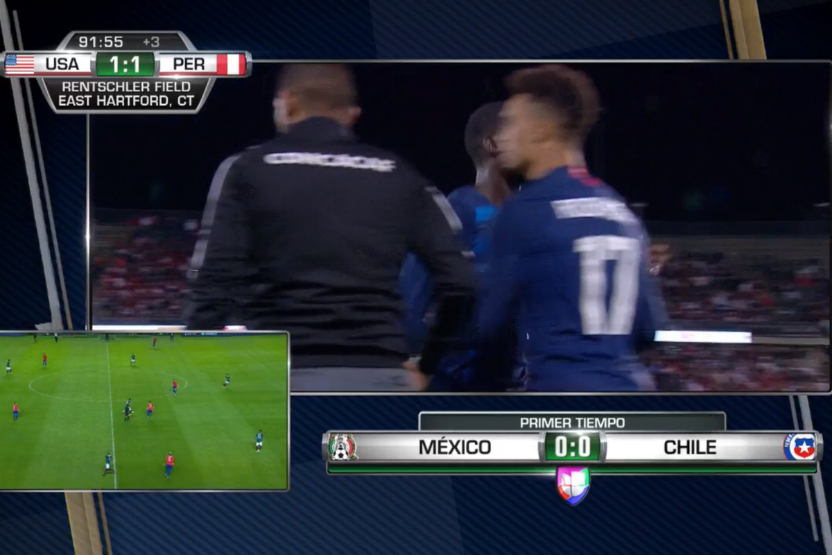Univision broadcast stumbles with Mexico's friendlies - FMF