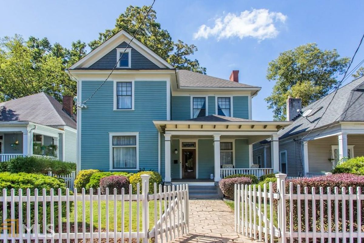 A house from 1906 for sale right now in Atlanta's Grant Park neighborhood.