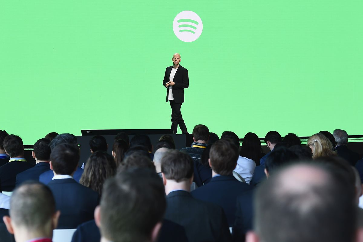Spotify share trading hints at $25bn flotation for music streaming giant