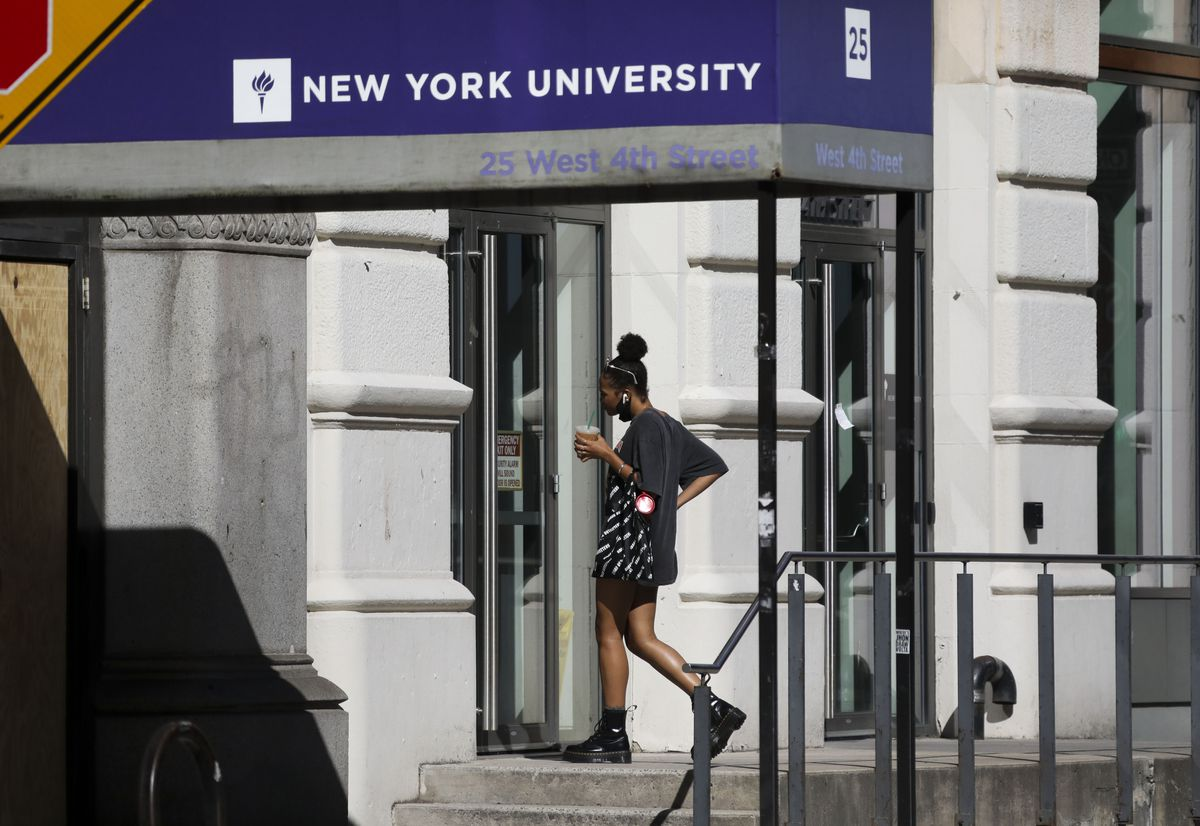 U.S.-NEW YORK-NYU-RULE ON INT'L STUDENTS-RESCISSION