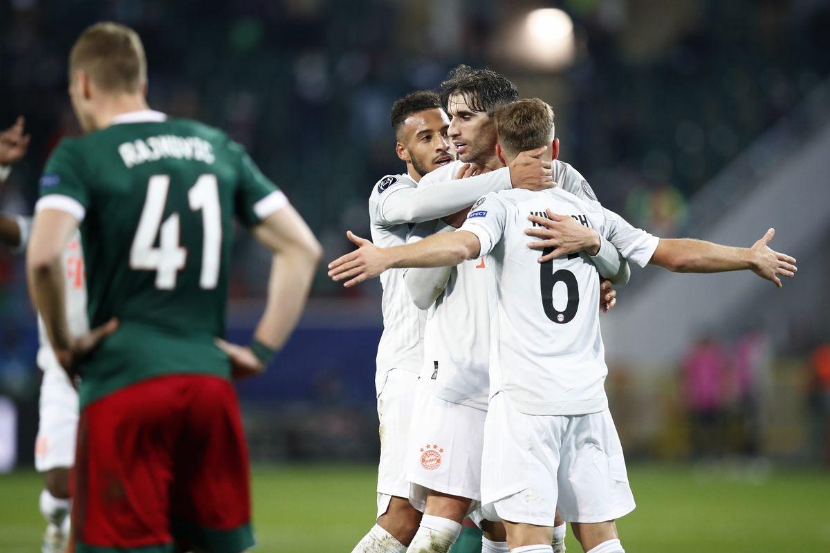 Lokomotiv Moskva v FC Bayern Muenchen: Group A - UEFA Champions League