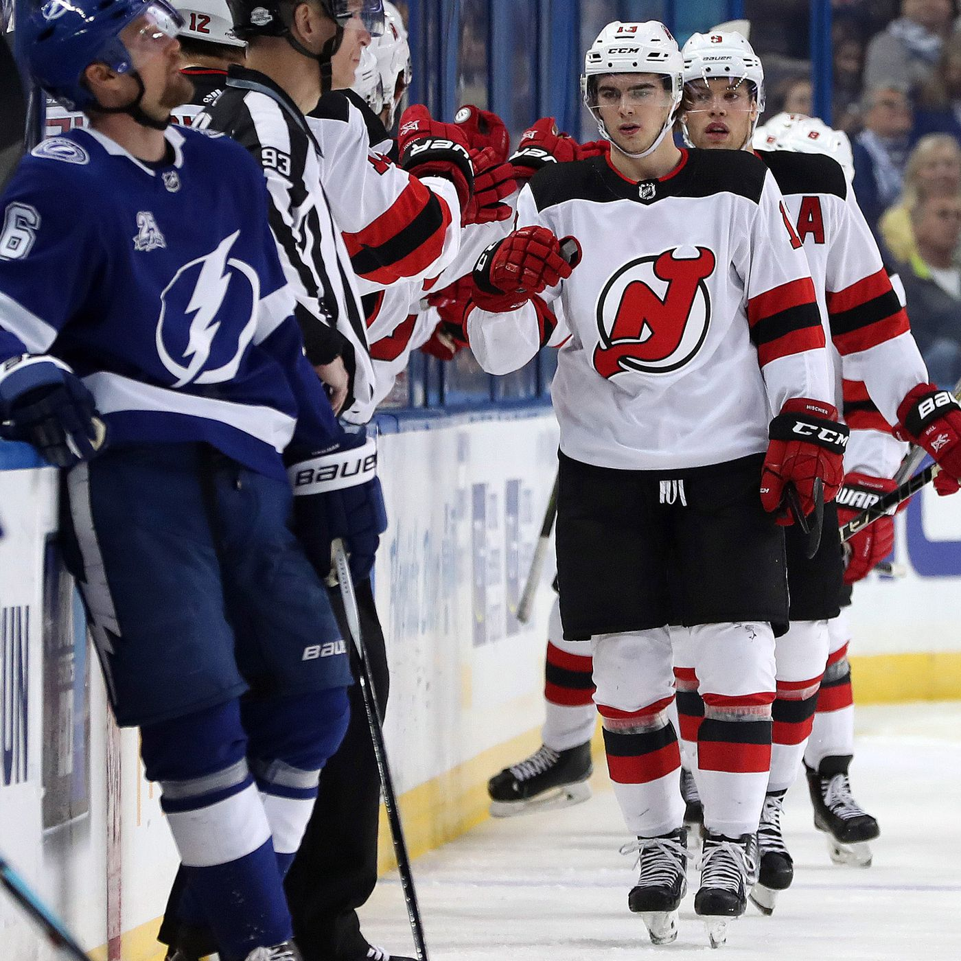 db121a87e New Jersey Devils to Play Tampa Bay Lightning in First Round of 2018 NHL  Playoffs - All About The Jersey