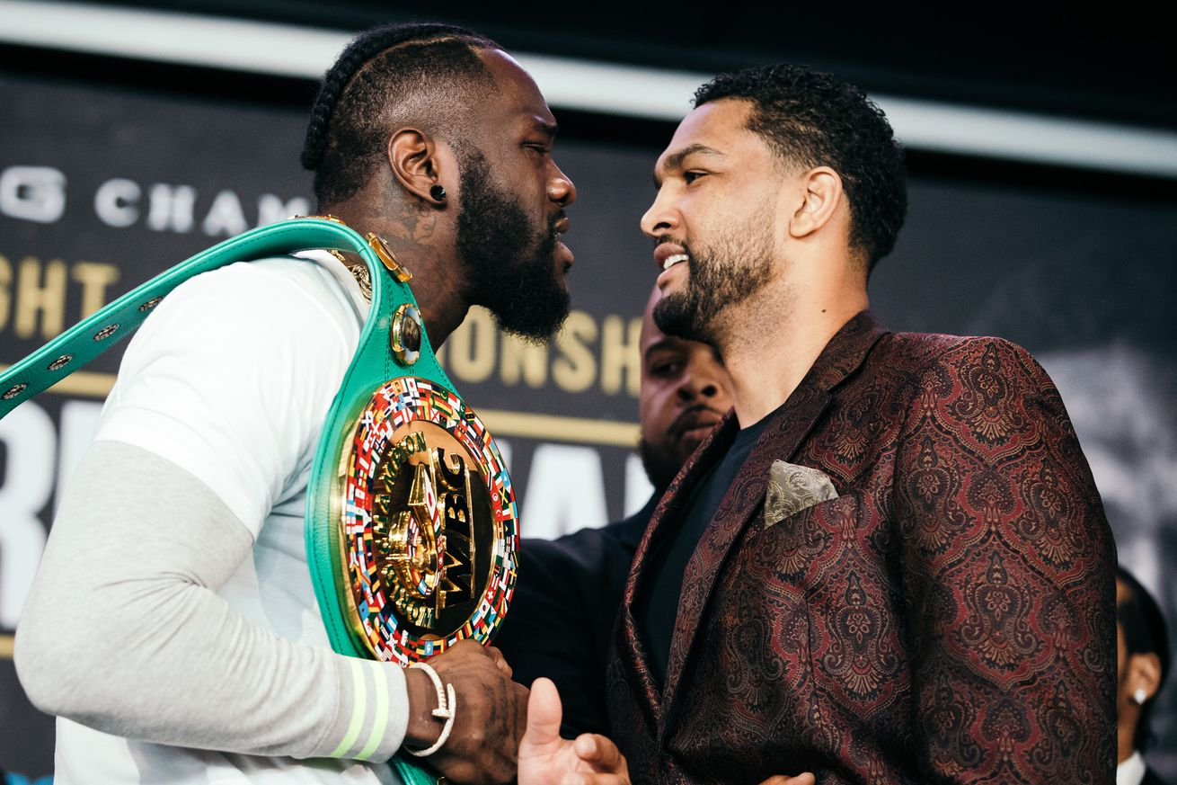 press conference 0030.0 - Wilder-Breazeale: Final presser quotes and photos