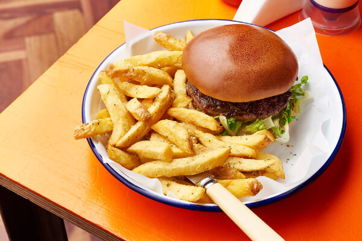 A burger at Honest Burgers. The London restaurant chain will open its first Manchester restaurant this year