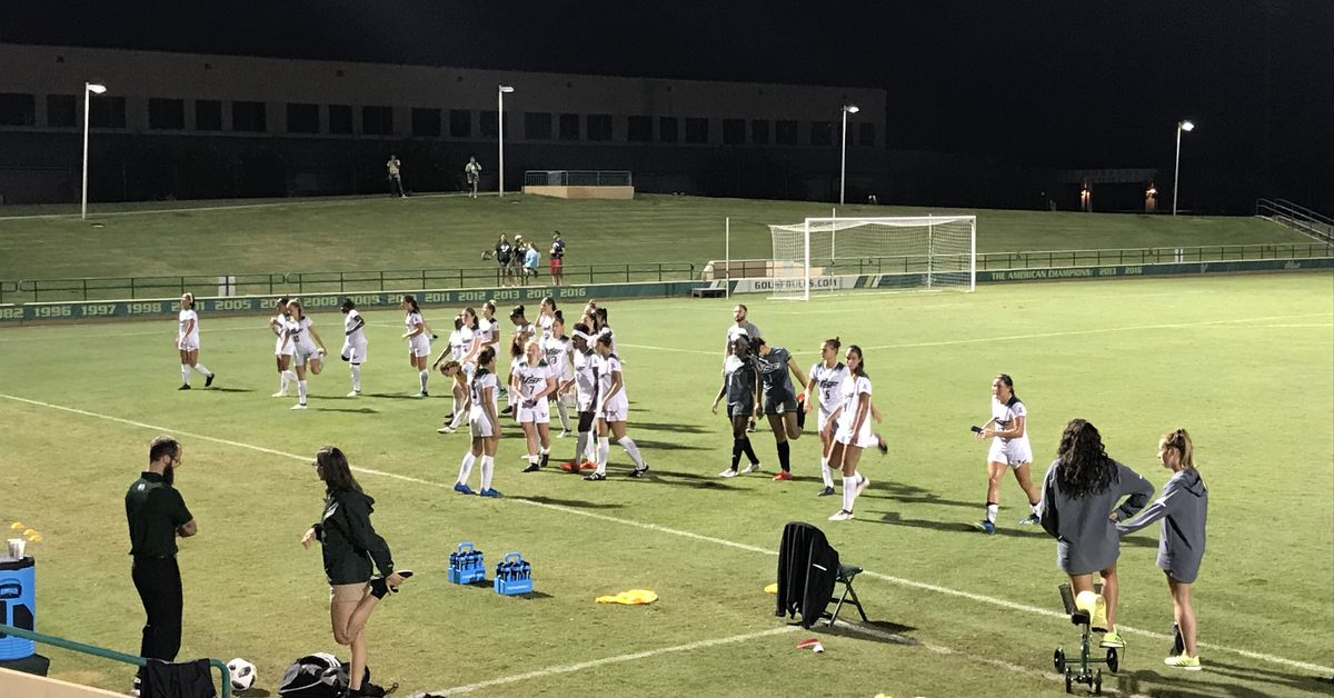 USF mens soccer beats Central Florida to advance to AAC