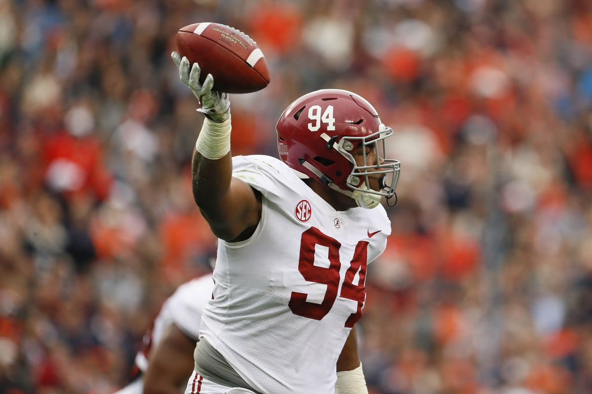 9eae8727c 2018 NFL mock draft  Da Ron Payne can fix the Cowboys  defense ...