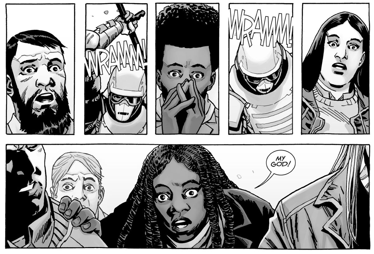 From The Walking Dead, Image Comics.
