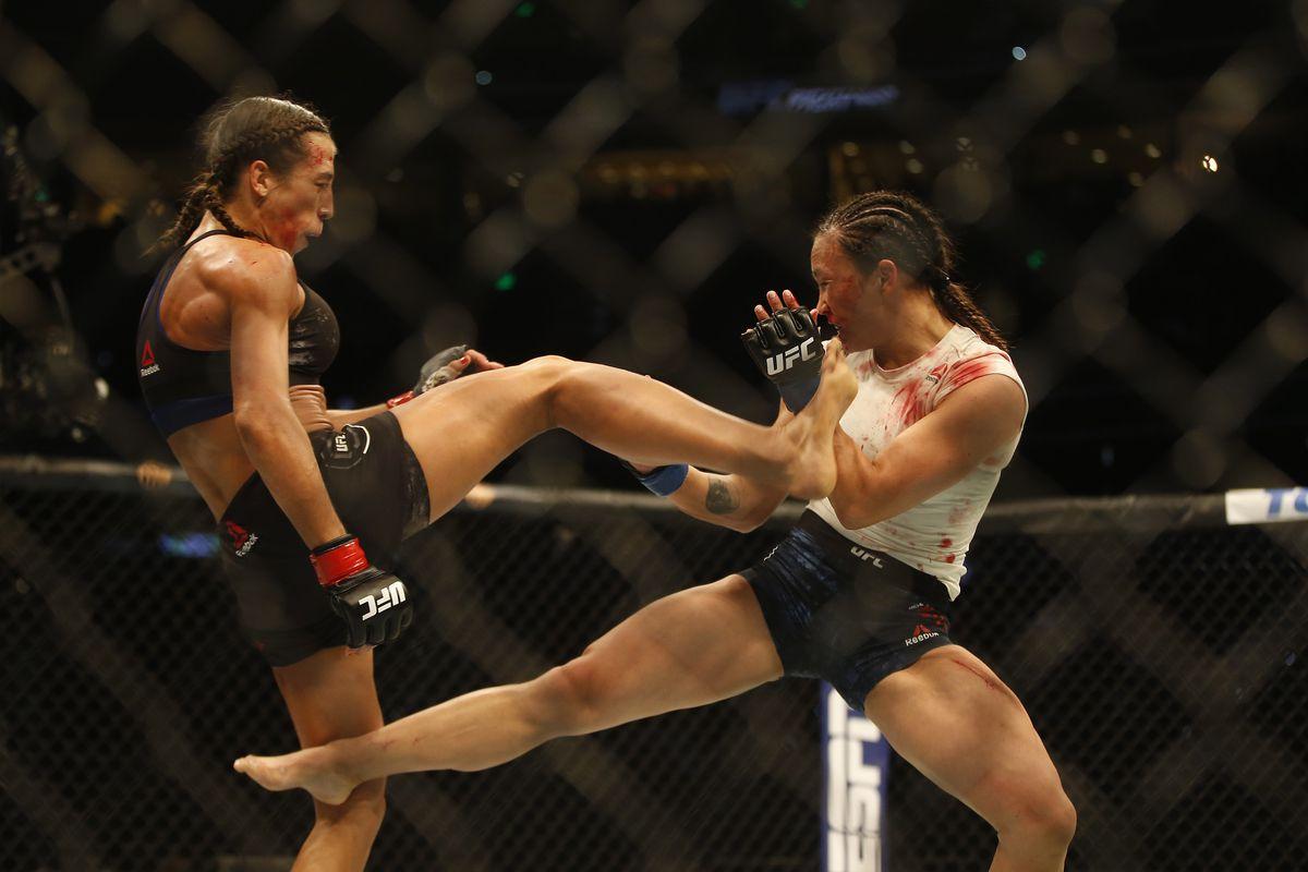 Joanna Jedrzejczyk reveals she didn't suffer broken foot in Michelle Waterson fight, targeting title shot next