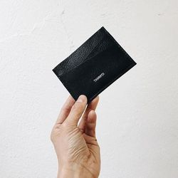 This buttery leather wallet can be customized with a monogram or message at no charge (just email info@bytoni.com)
