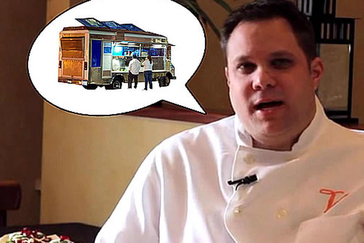 Nick Farina is looking to launch a taco truck.
