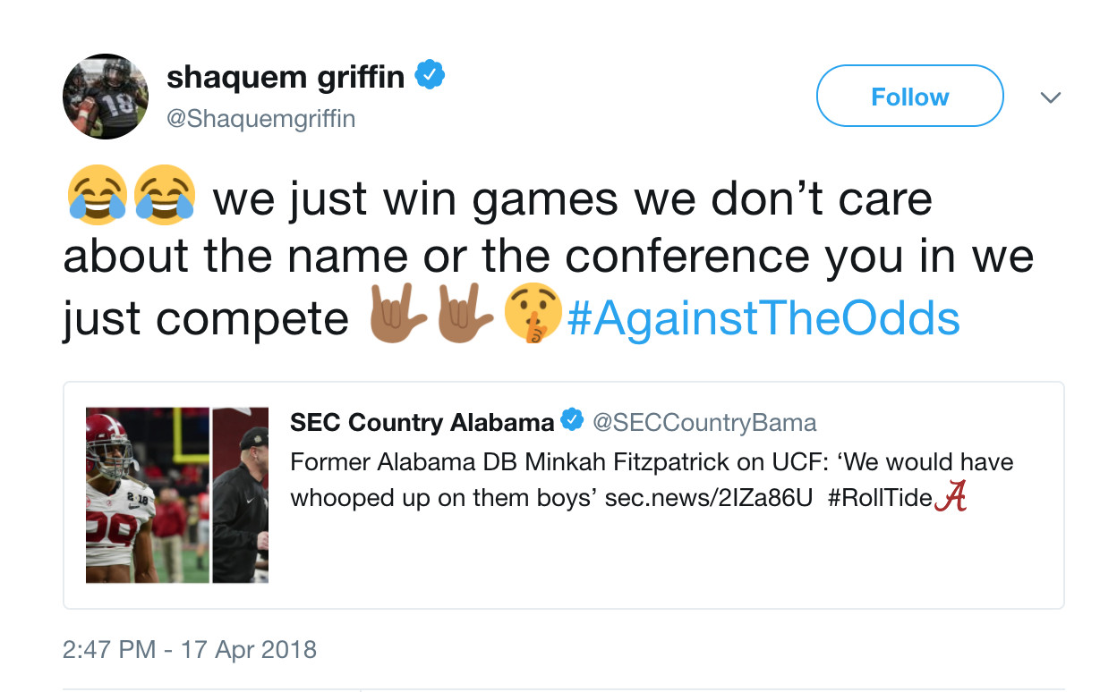 UCF national le claim: Everything involved with the ... on