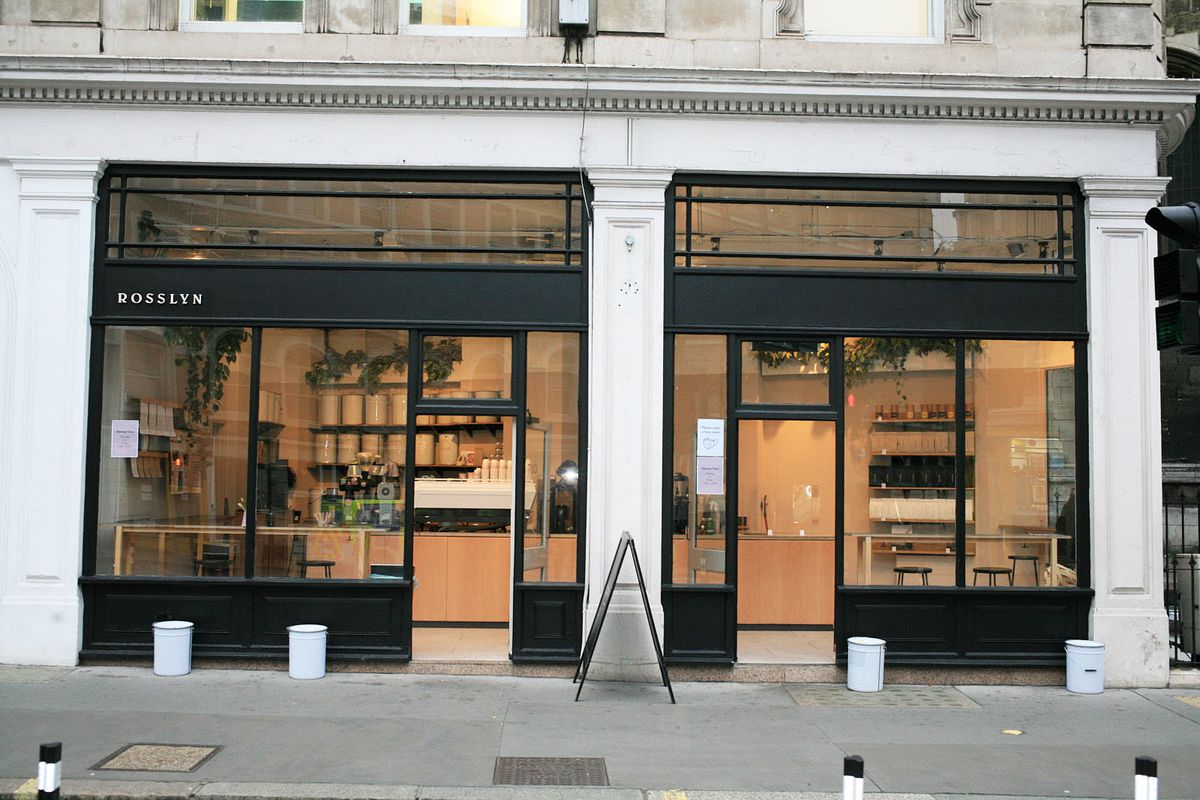 Rosslyn Coffee, among London's top tier coffee shops —reopens yesterday in the City