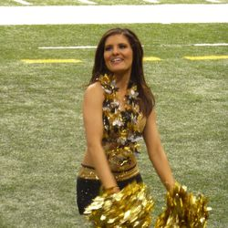 The Saintsation chosen to represent New Orleans at the Pro Bowl.