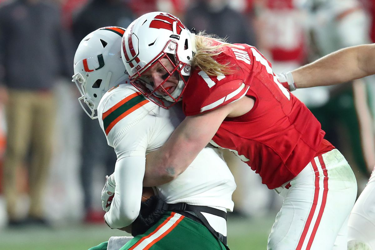 b81abe5e659 Reviewing Dolphins draft pick Andrew Van Ginkel with Bucky's 5th Quarter