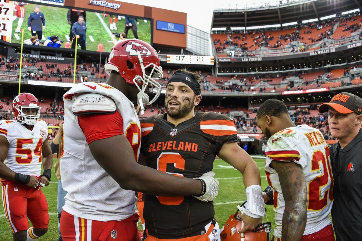 Kansas City Chiefs v Cleveland Browns
