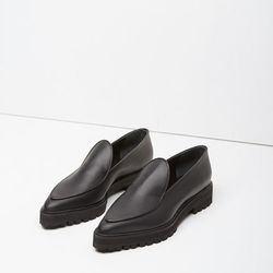 Pointy toe loafer, $99