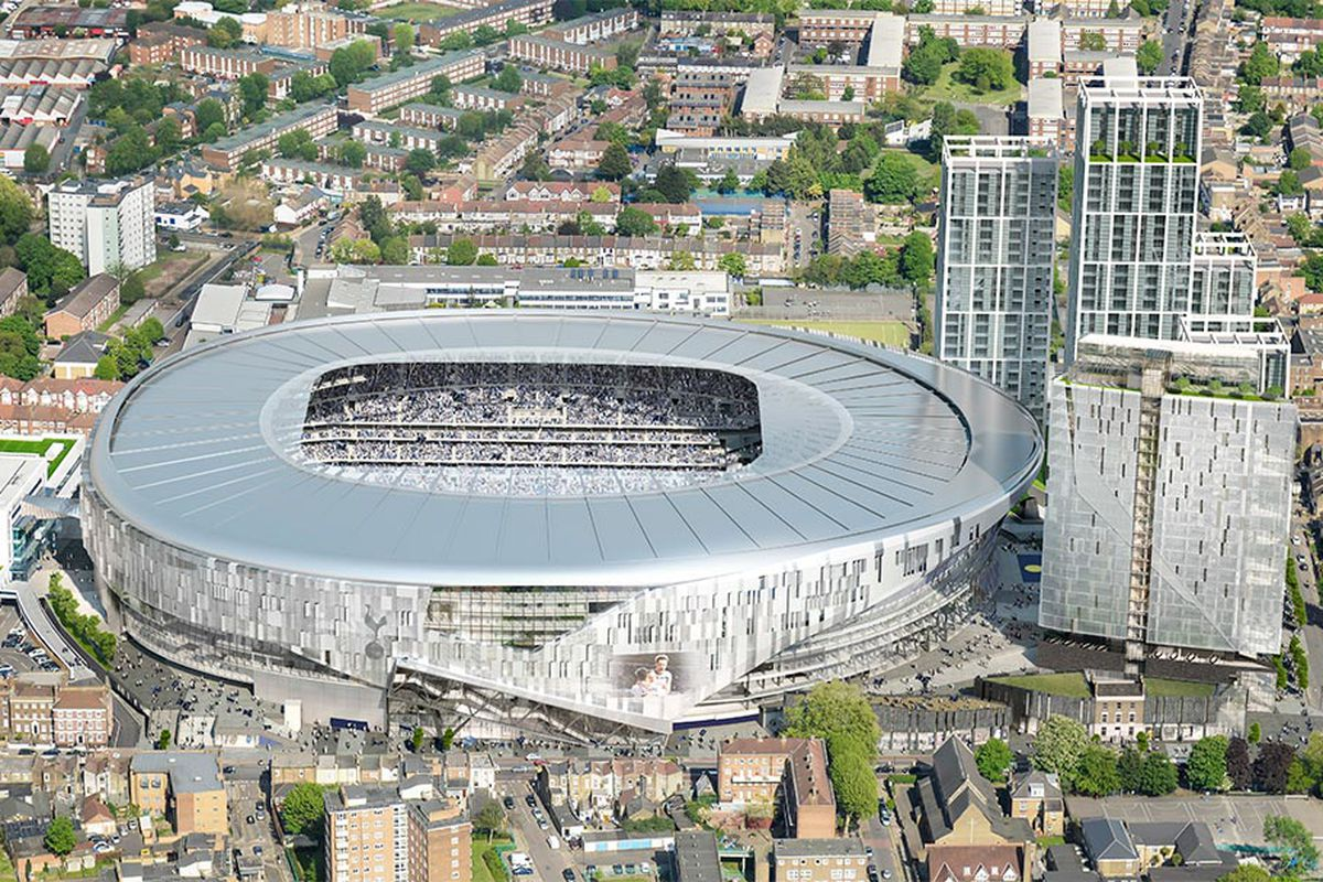 Tottenham Hotspur Releases First Detailed Look At New Stadium Exterior And It S Gorgeous Cartilage Free Captain