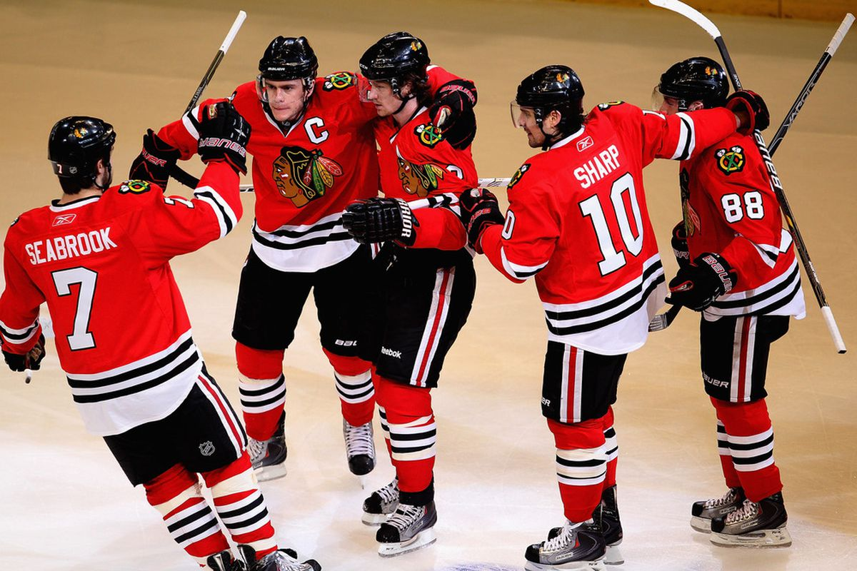 The only-celebrating-because-I-have-to Toews face.