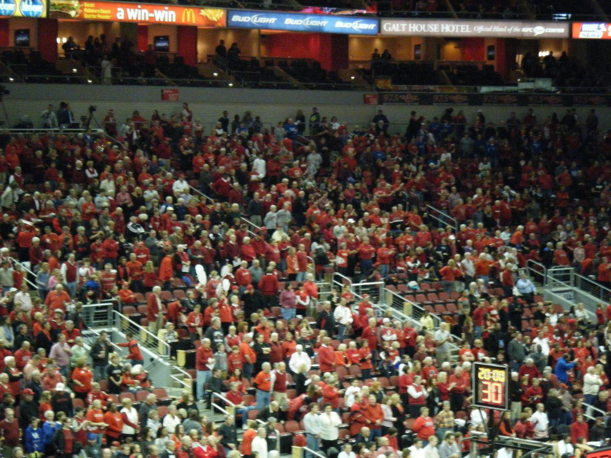 Louisville crowd