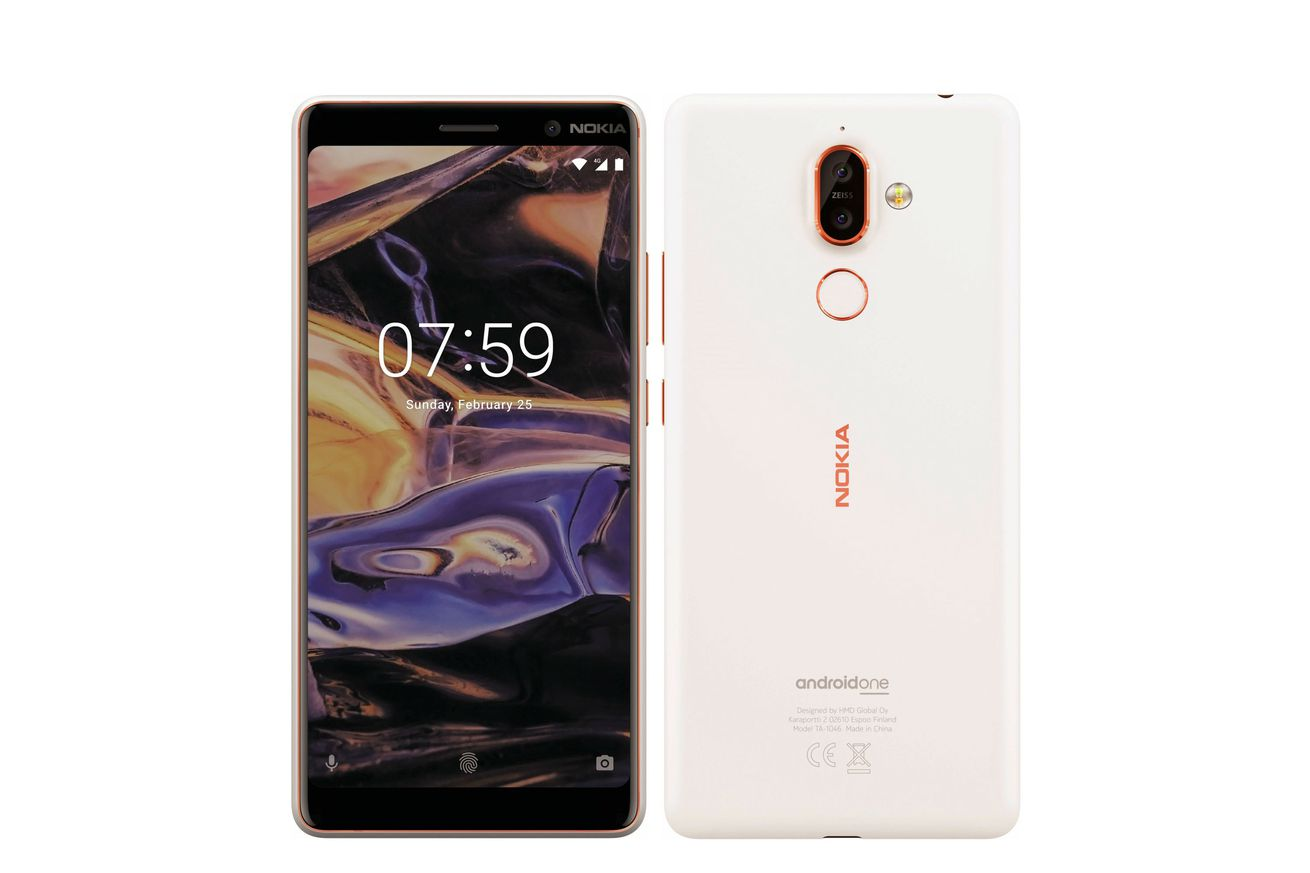 new renders reveal the upcoming nokia 7 plus and nokia 1