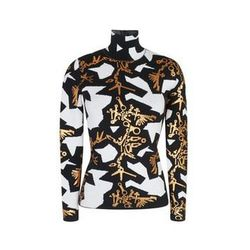 """Kenzo monster wool blend high neck sweater, <a href=""""http://www.openingceremony.us/products.asp?menuid=2&designerid=1335&productid=114773&sproductid=114775&color=WHITE&size=S"""">$565</a> at Opening Ceremony"""