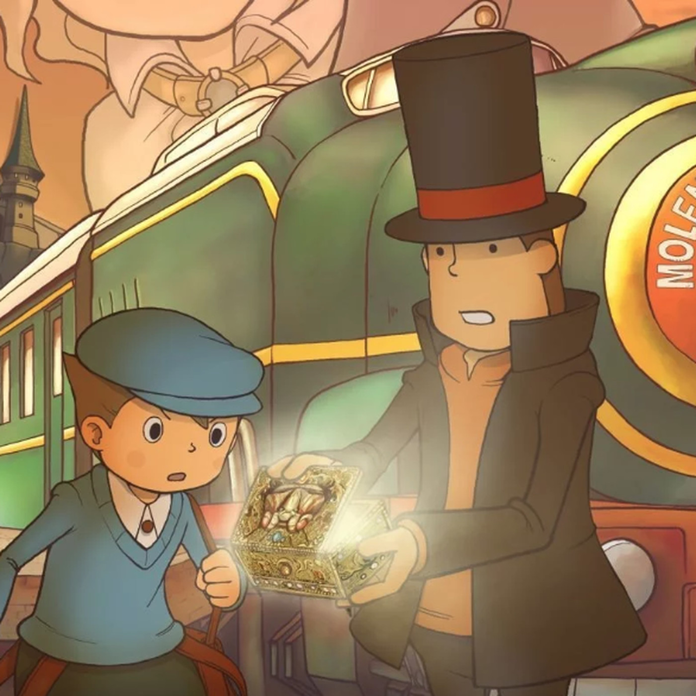 Professor Layton and the Diabolical Box now on mobile in HD - Polygon