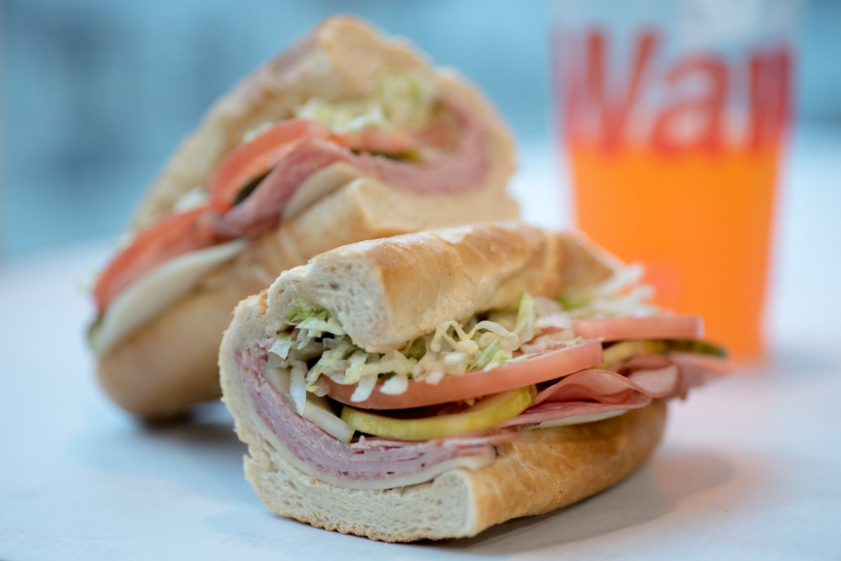 An Italian hoagie from one of Wawa's D.C. locations