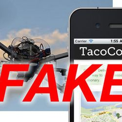 """<a href=""""http://eater.com/archives/2012/03/27/tragedies-the-tacocopter-was-just-a-hoax.php"""">Tragedies: The TacoCopter Was Just a Hoax</a>"""