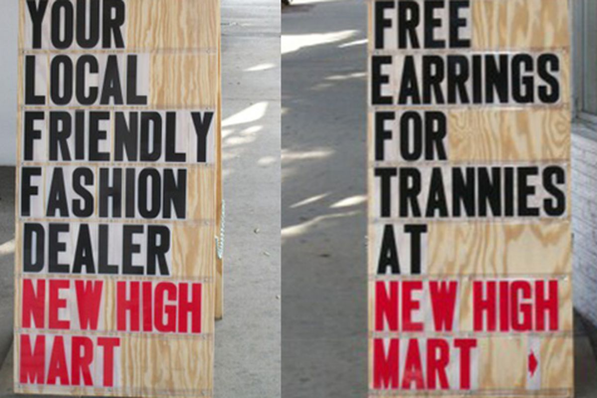 The many playful moods of New High Mart in Los Feliz