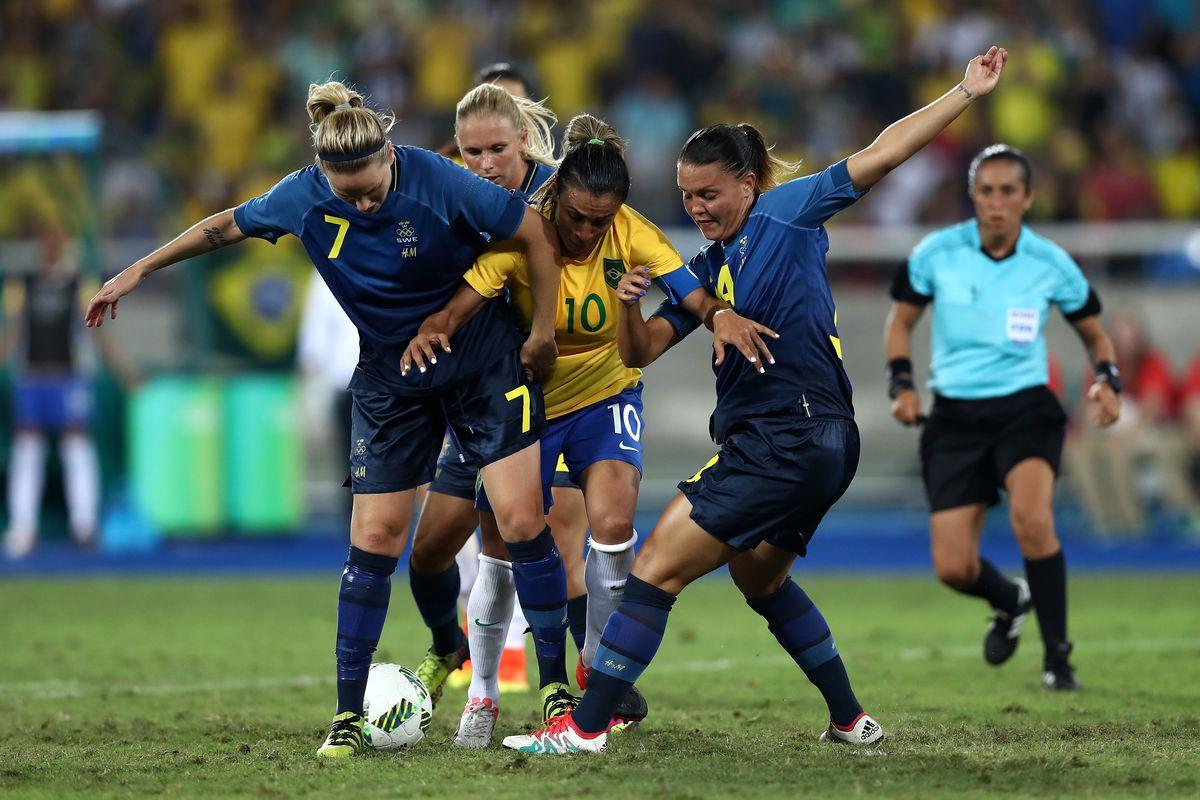 Brazil vs. Sweden 2016: Final score 0-0, Swedes win on ...