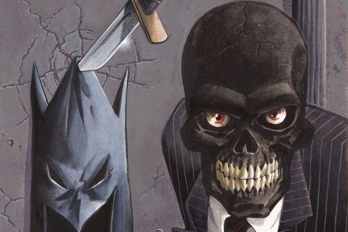 The Batman villain Black Mask, aka Roman Sionis