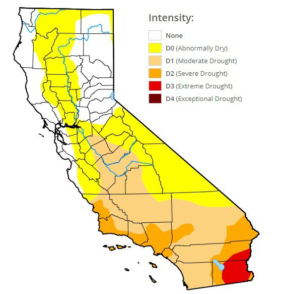 Weather California Storms Double Water Supply Still Not Enough