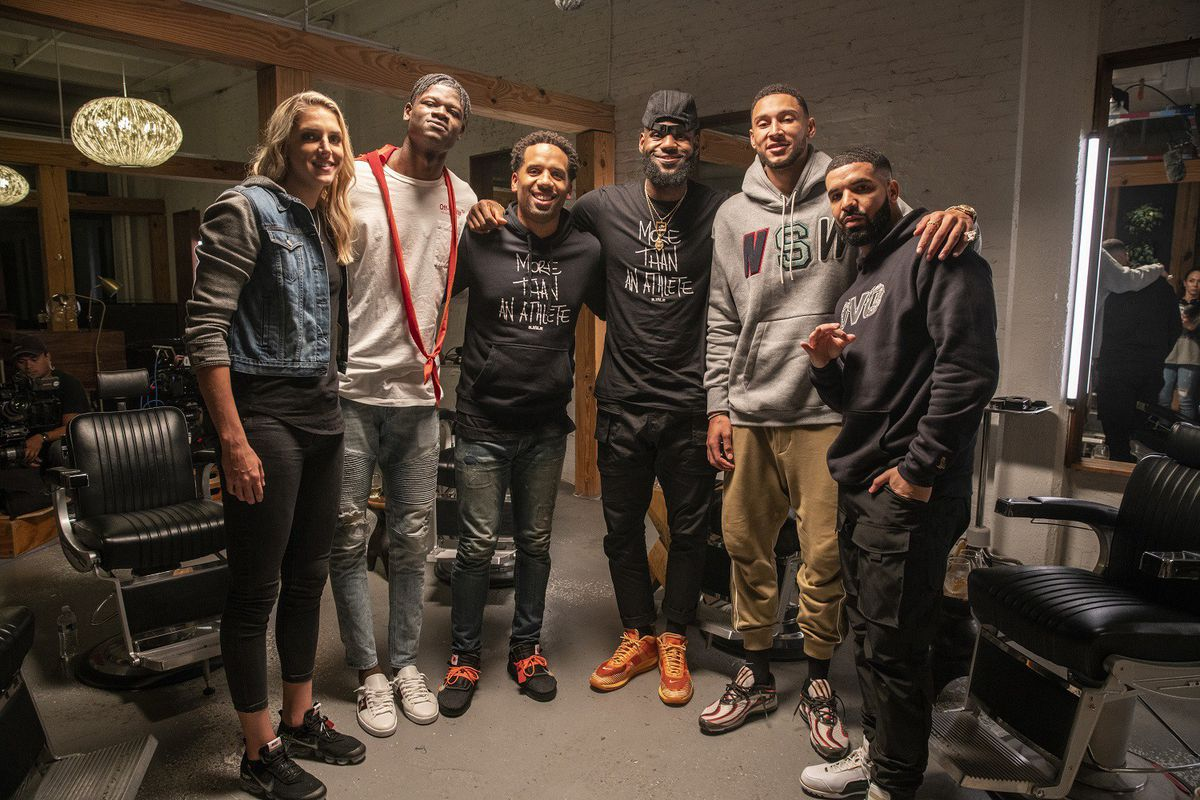 daae80747d5 Delle Donne a featured guest on HBO s  The Shop  - Swish Appeal