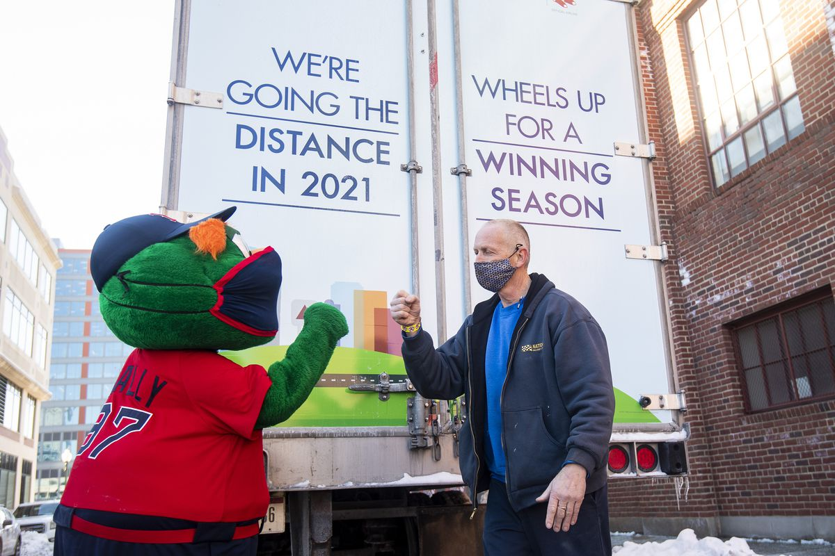 Boston Red Sox 2021 Truck Day