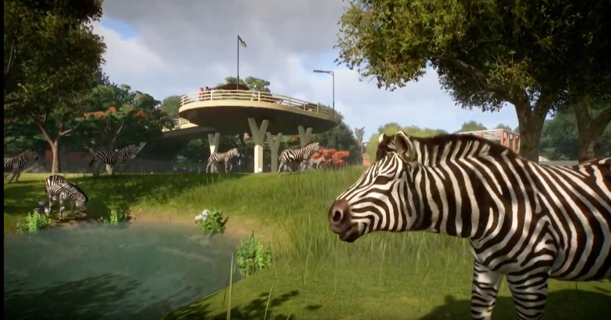 Planet Zoo gameplay trailer