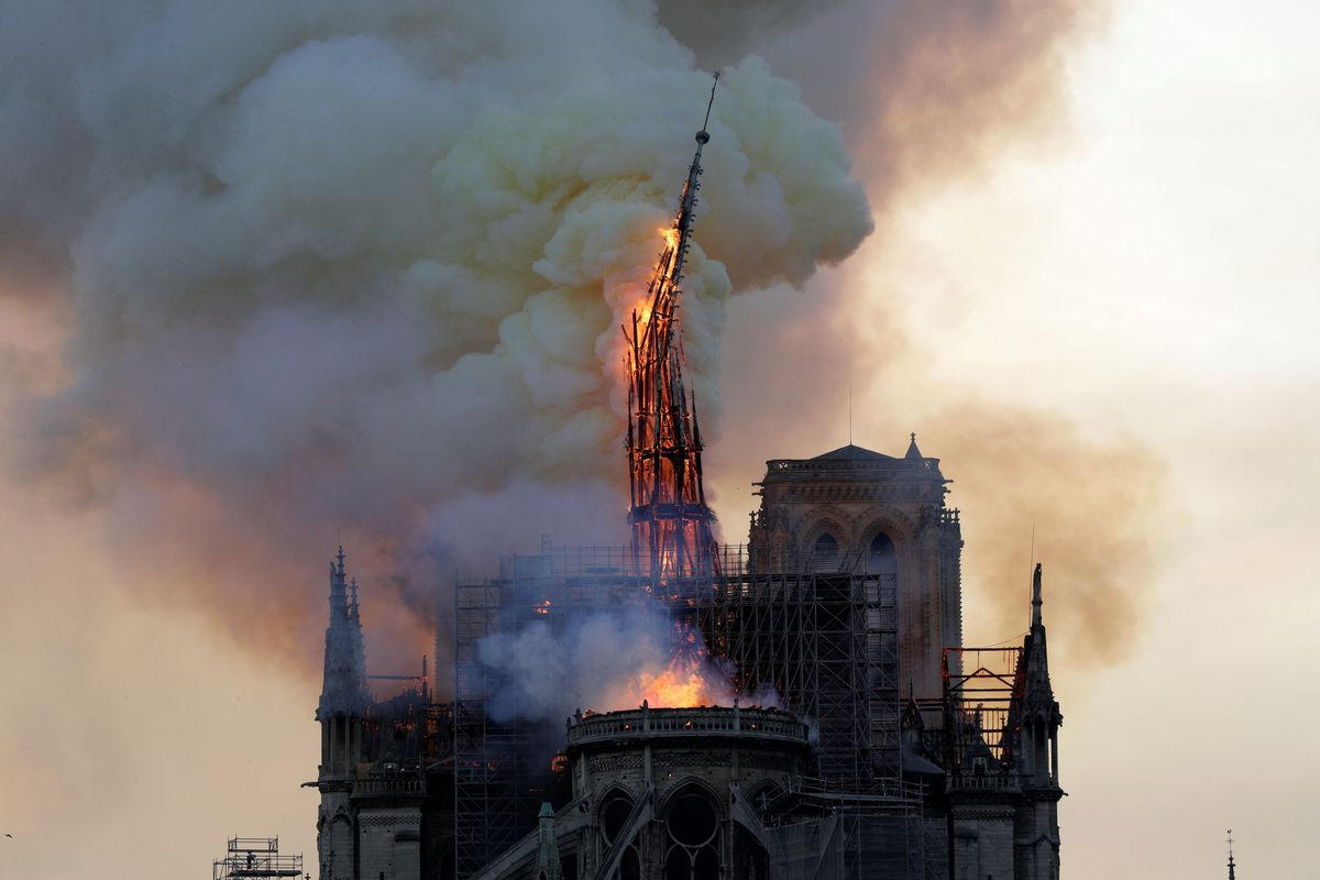 Notre Dame Fire Historic Paris Cathedral Is Severely Damaged Vox