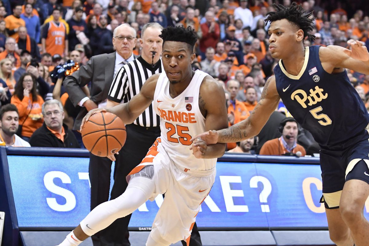 Syracuse Orange Discover Two Point Guards In Frank Howard And Tyus