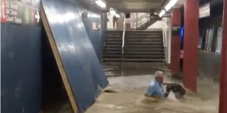 State AG will investigate 'dangerous conditions' after Queens subway flood video goes viral
