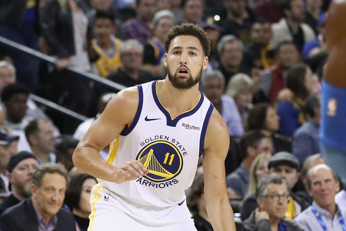 the latest 6d22f 79786 Will Klay Thompson be Pullman's College GameDay guest picker ...