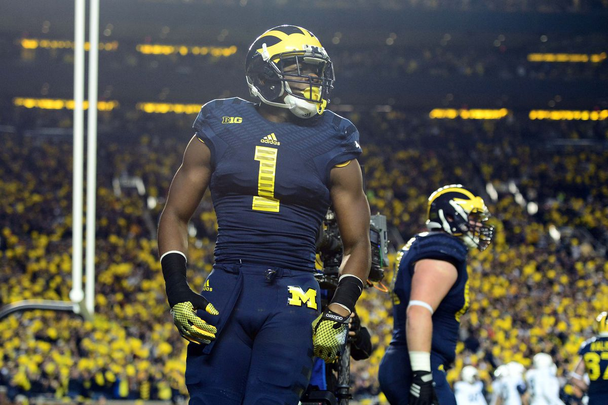 Devin Funchess leads Michigan's wide receiver corps into a game against Maryland.