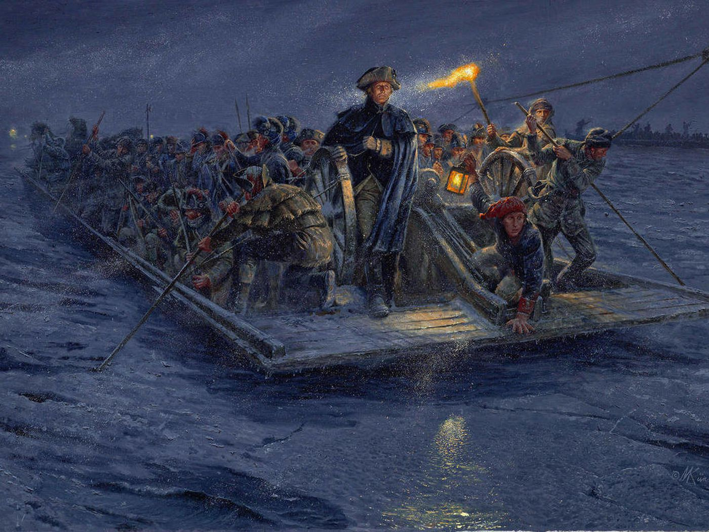 More Accurate View Of Washington Crossing Debuts Deseret News