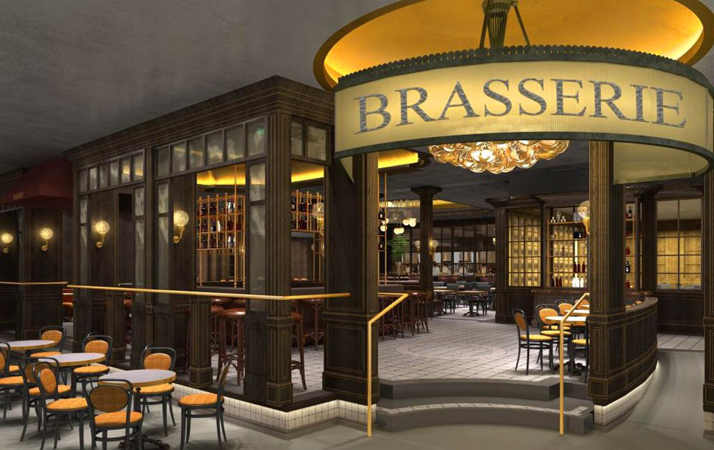 Bardot Brasserie rendering