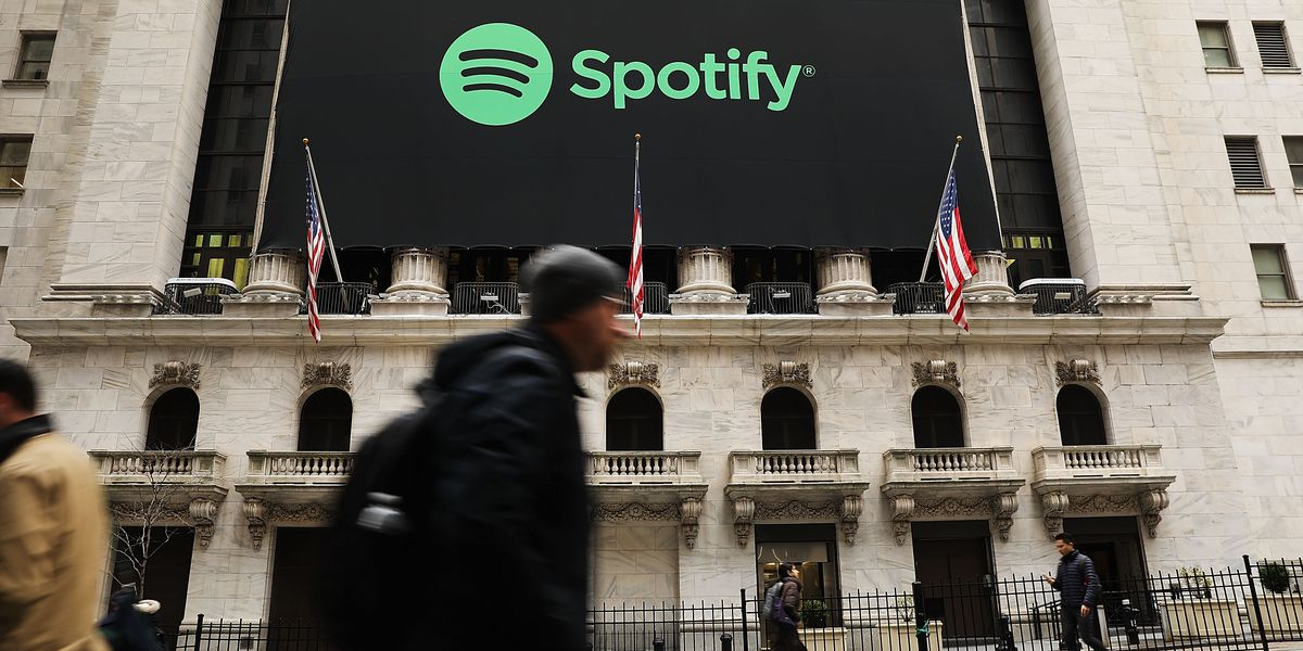 Spotifys Stock After Going Public Gave It Market Cap Of 27 Billion