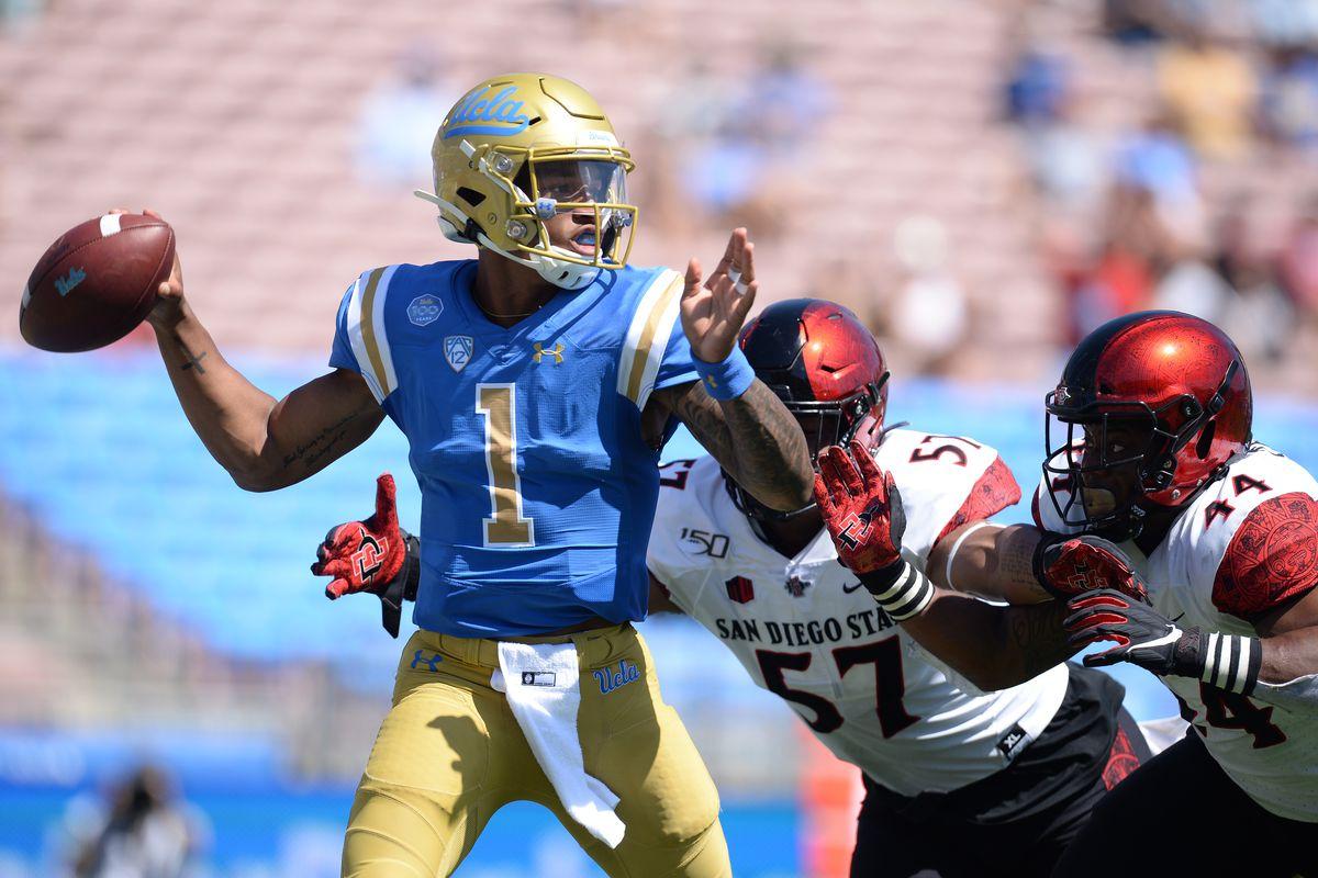 NCAA Football: San Diego State at UCLA
