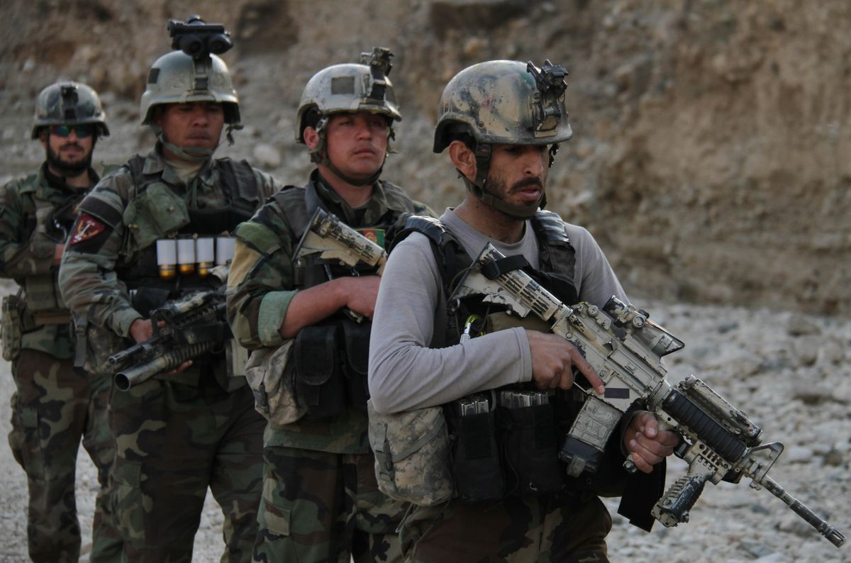 US-Afghan military operation against Islamic State militants in Nangarhar province