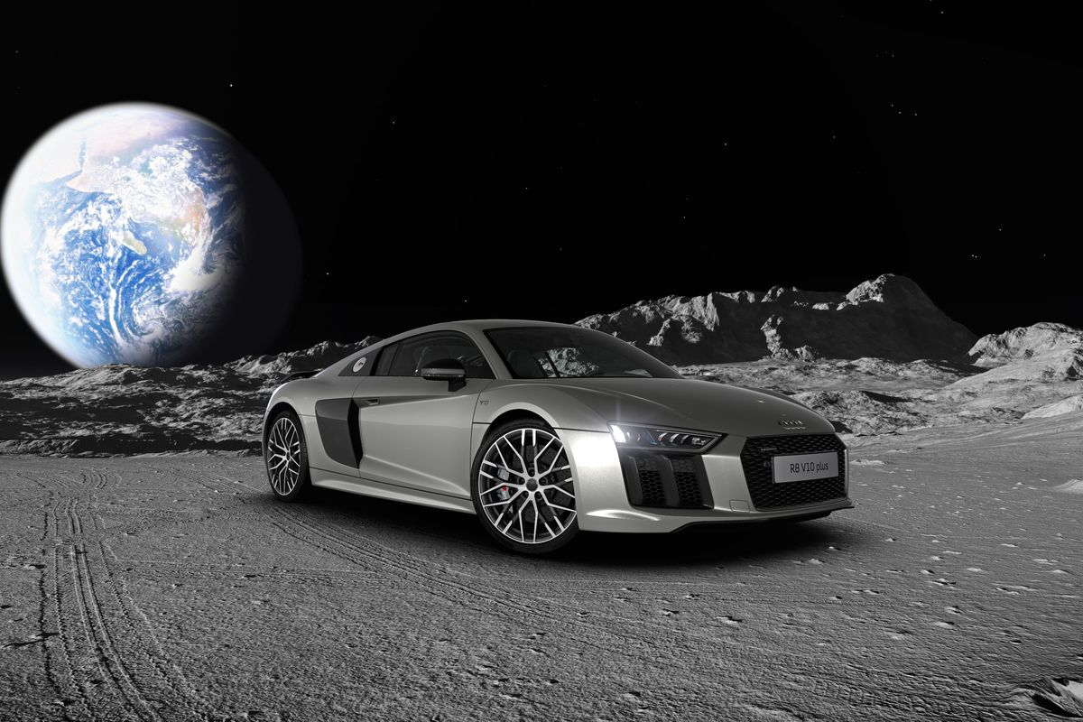 Car Games 2016 >> I just built an Audi R8 on the moon - The Verge