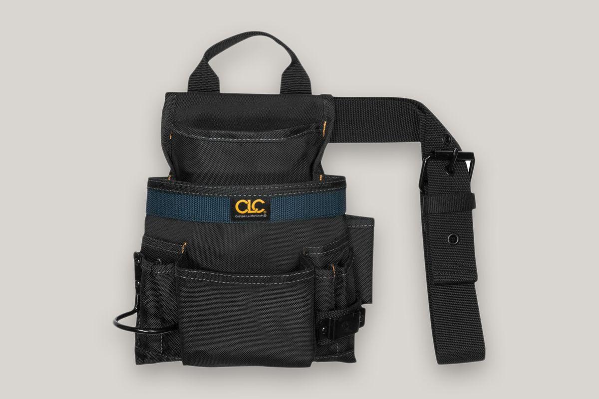 Custom Leathercraft 2823 Ballistic Nail and Tool Bag
