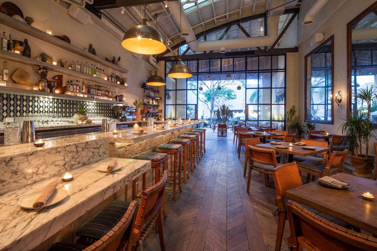 Gorgeous New Modern Mexican Restaurant Mirame Comes To Beverly Hills Eater La