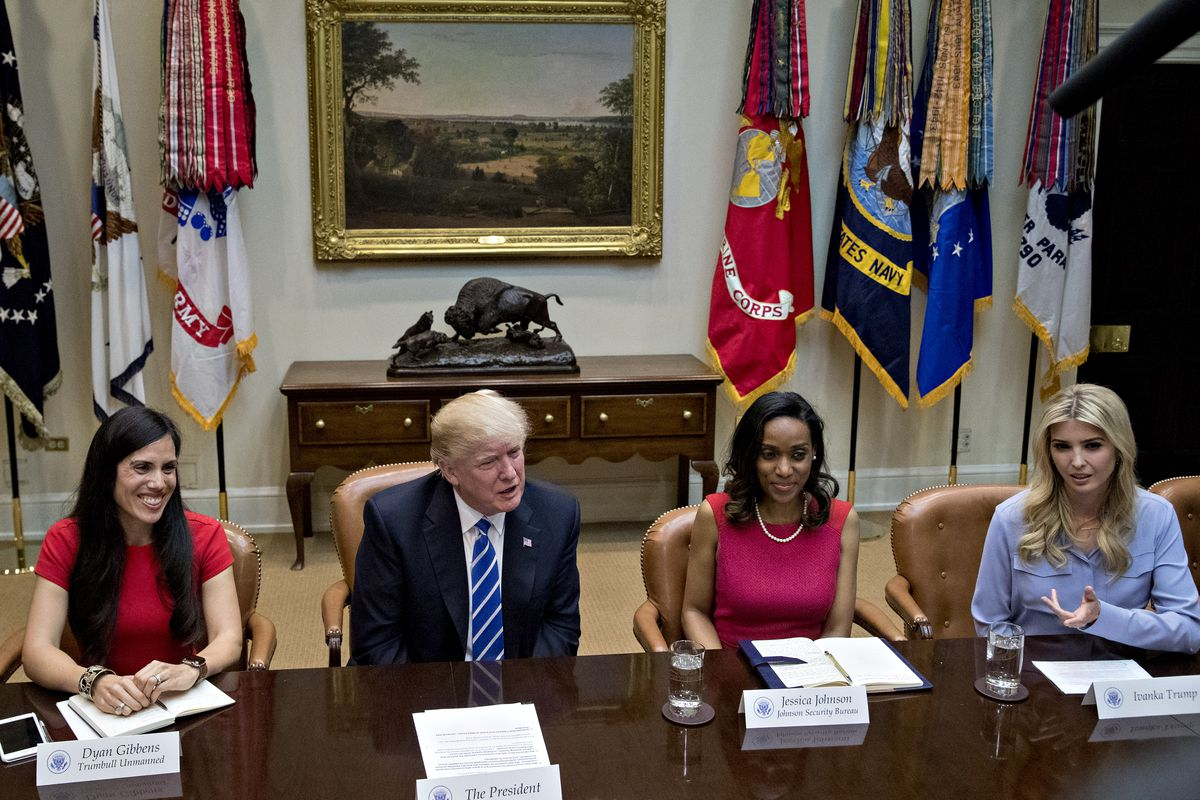 President Trump Participates In Roundtable With Women Small Business Owners
